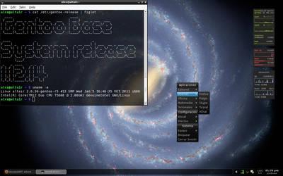 Gentoo OpenBox - ViaLactea by alexbariv