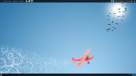 Fly with Debian 6 by alexbariv