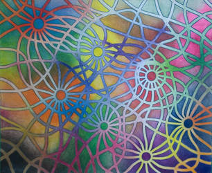 Color Web by misterwackydoodle