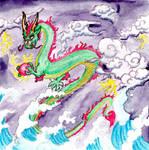 Storm Dragon-colored by SanzosKitten