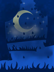 Starry Night Background by LedianWithACamera