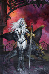 Lady Death Cover by Zeleznik
