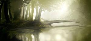 River Scene by tenchi24
