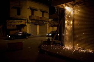 a street in Baalbek by Gonzale