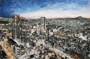 Tokyo by kinobuta