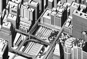 Crossroad Square by kinobuta