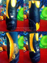 Relieve en yeso -BATMAN- by CeeliWorld