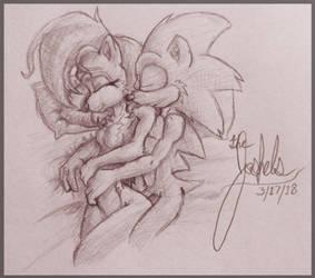 The Fluffy Stuff Sketch by Joshels