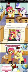Manehattanite Friends 3 - Colorism by wildtiel