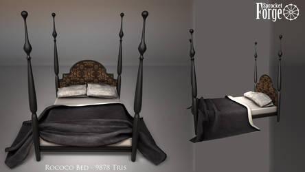 Rococo Bed by tidalkraken