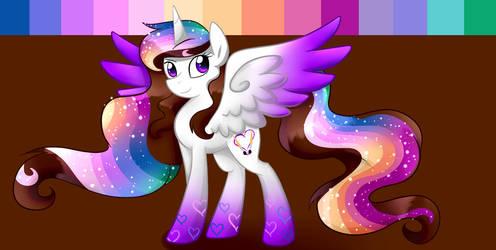 Rainbow Power Ella by Le-Poofe