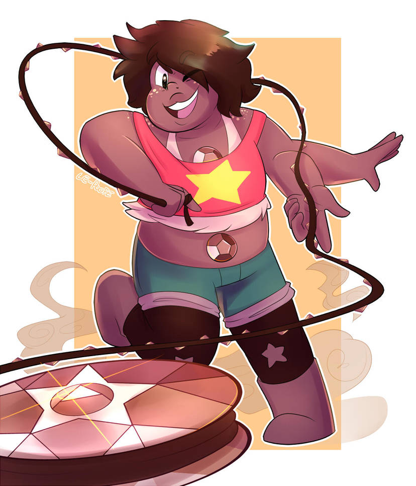 I looovvee Smokey Quartz!! Their design is awesome, their personality is adorable, and it really shows a good relationship between Steven and Amethyst!