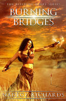 Burning Bridges - book cover art by Morteque