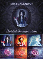 TWISTED IMAGINARIUM 2014 calendar by Morteque