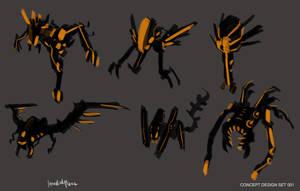 Creature concept designs SETB by benedickbana