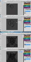 Part 1 wip tutorial Tribal Forge MaskMen by benedickbana