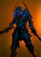 Blue Chaos Assassin by benedickbana