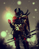 Steampunk Warlock by benedickbana