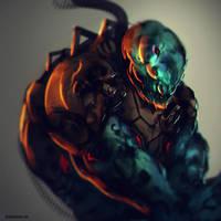 Alien Juggernaut by benedickbana