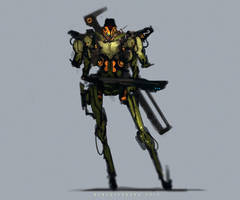 Bot 029 Hunter by benedickbana