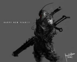 Dark Reborn HAPPY NEW YEAR by benedickbana
