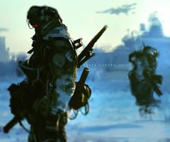 Warzone Battle Echo by benedickbana