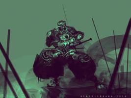Armored Ninja by benedickbana
