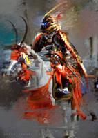 Brainstorm Challenge Samurai Crab Armor by benedickbana
