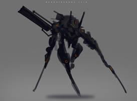 Speedpaint LongDive by benedickbana