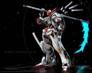 Gundam Barbatos Fanart by benedickbana