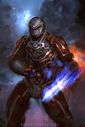 Cosmic Rider by benedickbana