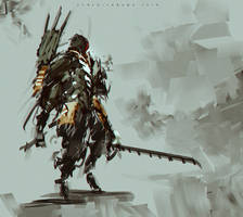 Blade of Death by benedickbana