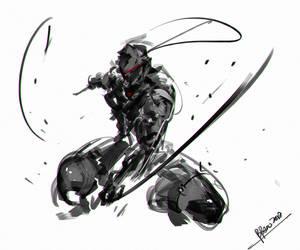 Speedpaint Neo Ninja by benedickbana