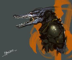Gator by benedickbana