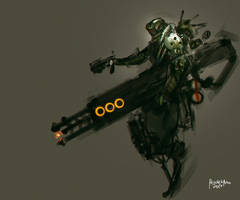 Titan Gun by benedickbana