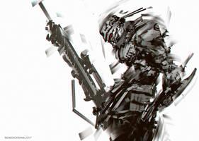 Ogre Soldier by benedickbana