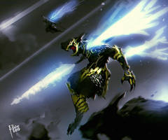 Lightning Dagger by benedickbana