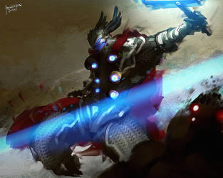 Fanart Thor by benedickbana