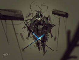 Twin Sword of the Ice by benedickbana
