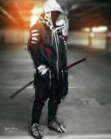 PhotoBash DigitalPainting Ninja Punk by benedickbana
