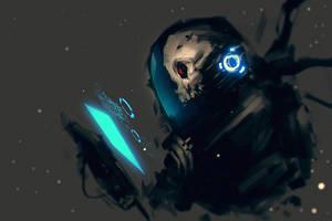 Dead Spacesuit by benedickbana