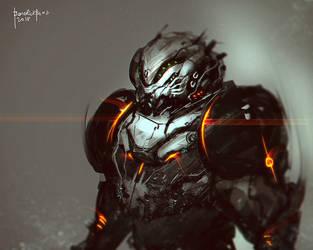 Alien Brute by benedickbana