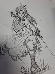 ink drawing by benedickbana