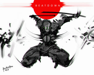 Beatdown Ninja by benedickbana