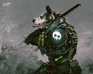 Dog Tag by benedickbana