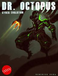 FANART DR. OCTOPUS Cyber Evolution COVER ART by benedickbana