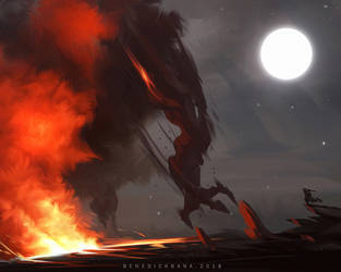 Raging Inferno by benedickbana