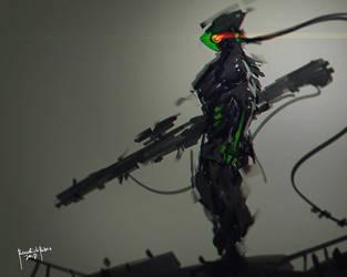 Thunder Rifle by benedickbana