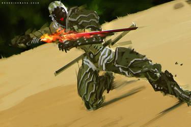 DarkFall Cybernetic Ninja by benedickbana