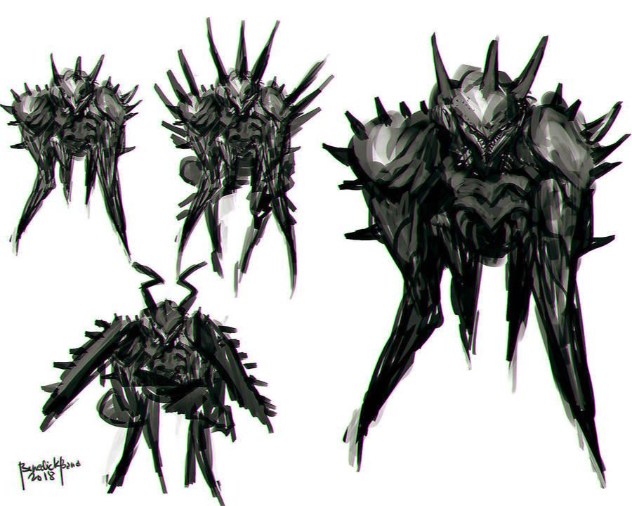 Creature Design Spike Smasher 01 by benedickbana